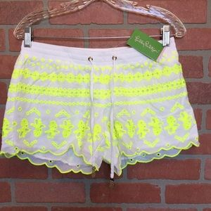 Lilly Pulitzer Women's shorts S Baybreeze  (3M56)